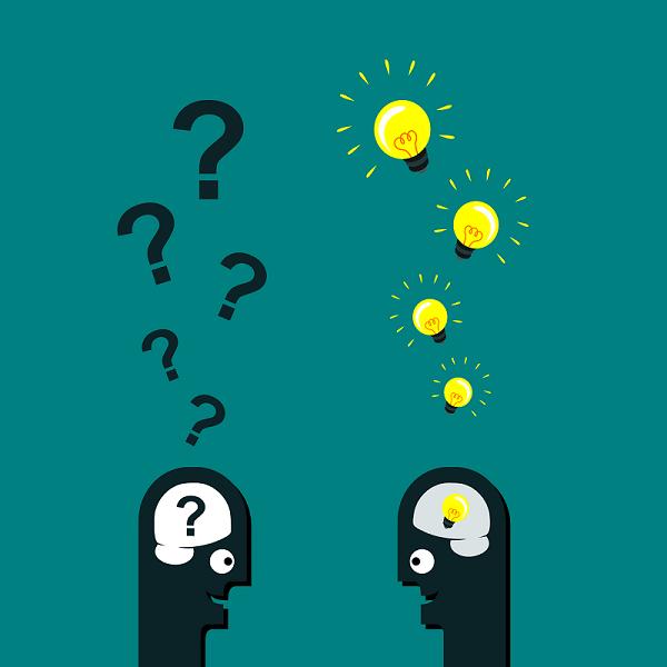 Questions réponses entre deux personnes